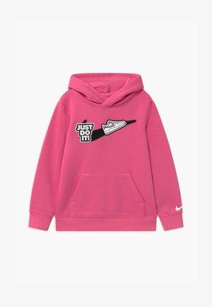 GIRLS CRUSH IT HOOD - Bluza z kapturem - pinksicle