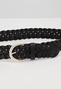 TOM TAILOR - Cinturón trenzado - schwarz - 4