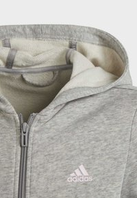 adidas Performance - Sweat à capuche zippé - grey - 3