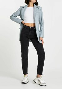 River Island - Faux leather jacket - green - 1