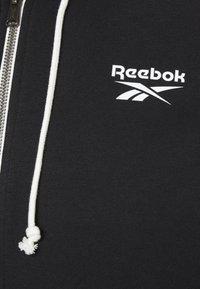 Reebok - HOODIE - Zip-up hoodie - black - 2