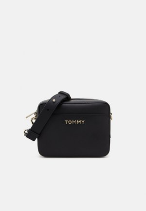 ICONIC TOMMY CAMERA BAG - Sac bandoulière - black