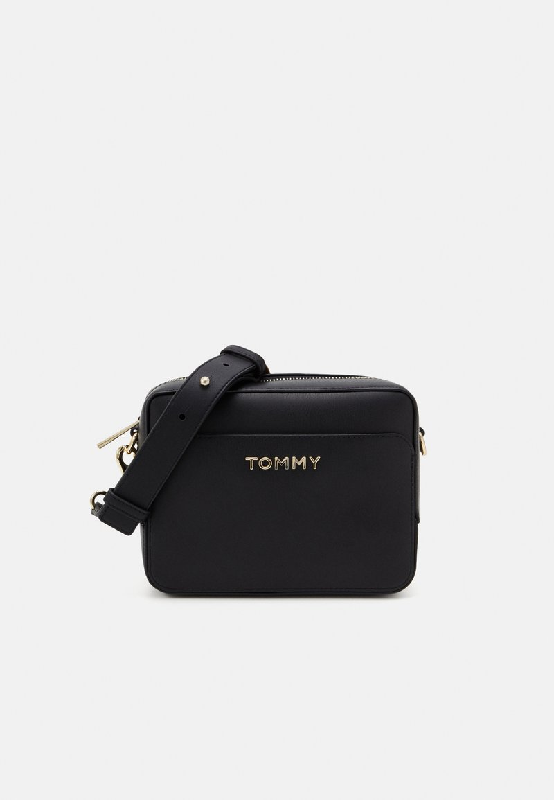 Tommy Hilfiger - ICONIC TOMMY CAMERA BAG - Across body bag - black