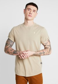 G-Star - LASH - T-shirts basic - dusty sand - 0