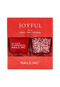 Nails Inc - JOYFUL - Nail set - red/glitter - 1