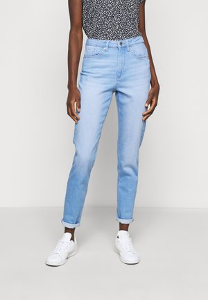ONLVENEDA LIFE MOM - Slim fit jeans - light blue denim