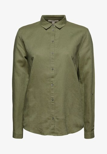CORE - Button-down blouse - light khaki