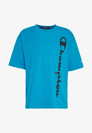 CREWNECK - T-shirts print - neon blue