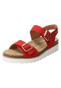 Mobils Ergonomic - Walking sandals - scarlet - 3