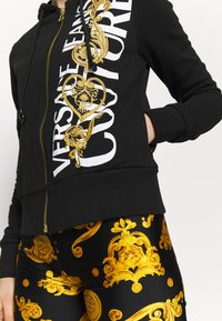 Versace Jeans Couture - Zip-up hoodie - black/gold - 3