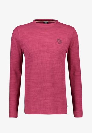 Long sleeved top - rose hip red