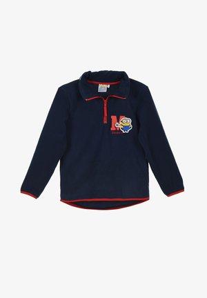 Fleece jumper - dunkel-blau