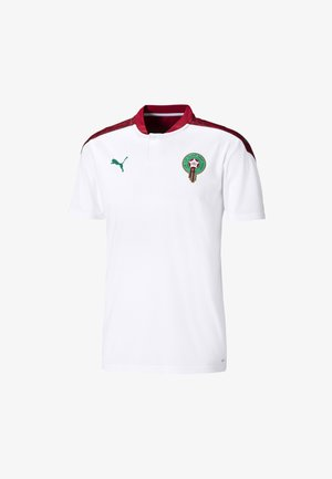 MOROCCO AWAY REPLICA  - T-shirt med print - white-pepper green