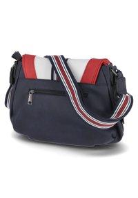 Rieker - Across body bag - blau-kombi - 1