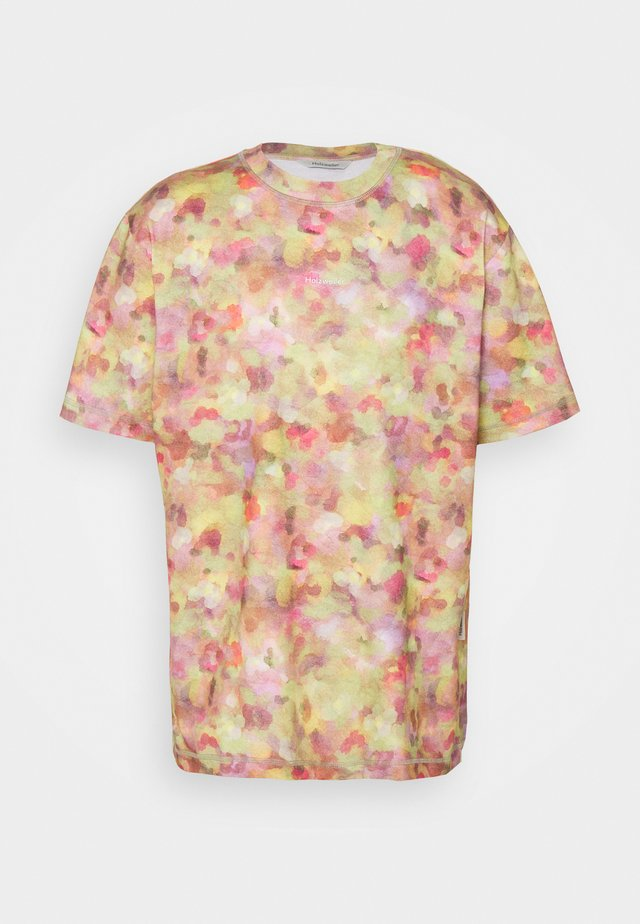 SEDIMENTS TEE - T-shirt imprimé - green mix
