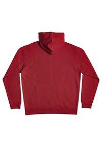 DC Shoes - Zip-up sweatshirt - chili pepper - 1