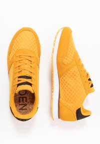 Woden - YDUN SUEDE MESH II - Sneakers laag - autumn blaze - 3