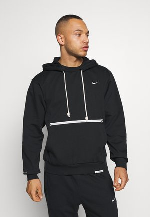 STANDARD ISSUE - Sweat à capuche - black/pale ivory