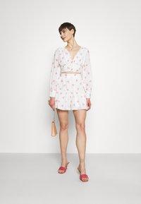 Glamorous - PIPING SKIRT - Minihame - rose broderie - 1