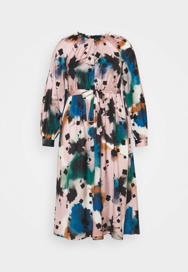 PRINTED MIDI DRES - Korte jurk - multi-coloured