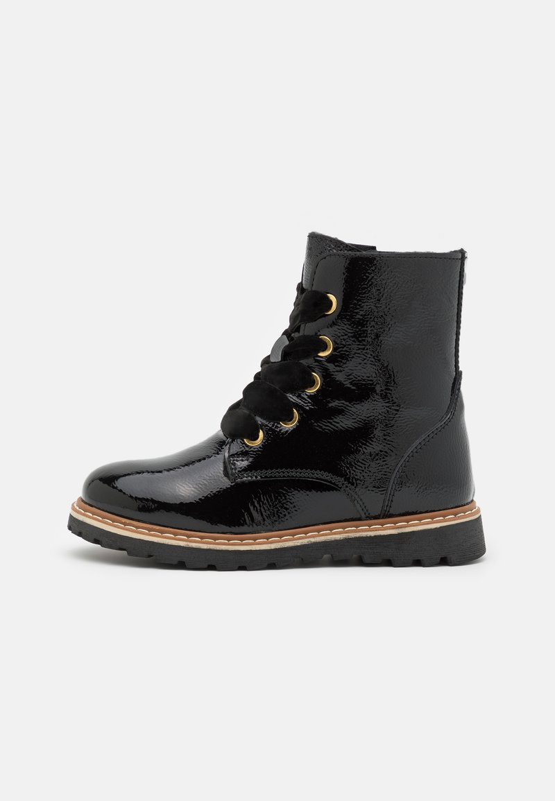 Friboo - LEATHER - Veterboots - black