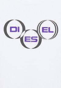 Diesel - DIEGOS UNISEX - T-shirt con stampa - white - 2