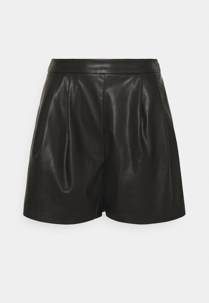 Vila - VIVIVI SHORTS - Shorts - black