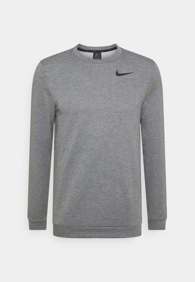 DRY CREW - Sweatshirt - charcoal heathr/black