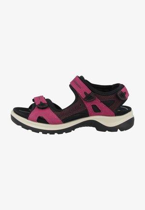 Walking sandals - sangria-fig (069563-51760)