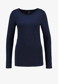 GAP - CREW TEE - Long sleeved top - true indigo - 4