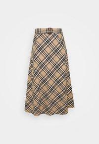 Lounge Nine - LUCY SKIRT - A-snit nederdel/ A-formede nederdele - silver mink - 0