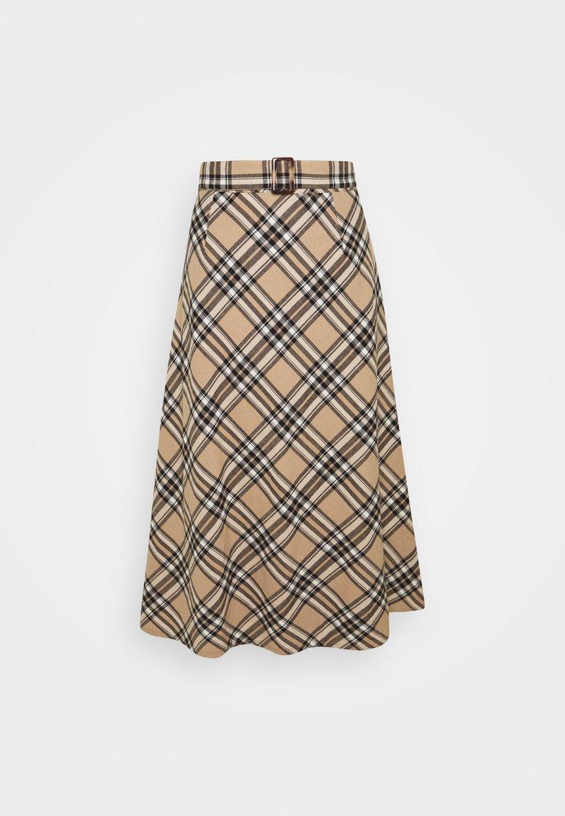 Lounge Nine - LUCY SKIRT - A-snit nederdel/ A-formede nederdele - silver mink