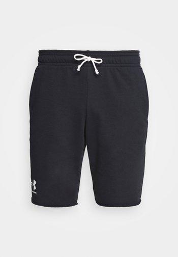 RIVAL TERRY SHORT - Pantaloncini sportivi - black