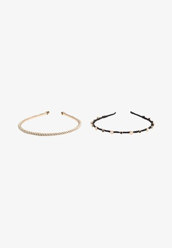 2PACK - Hair styling accessory - black