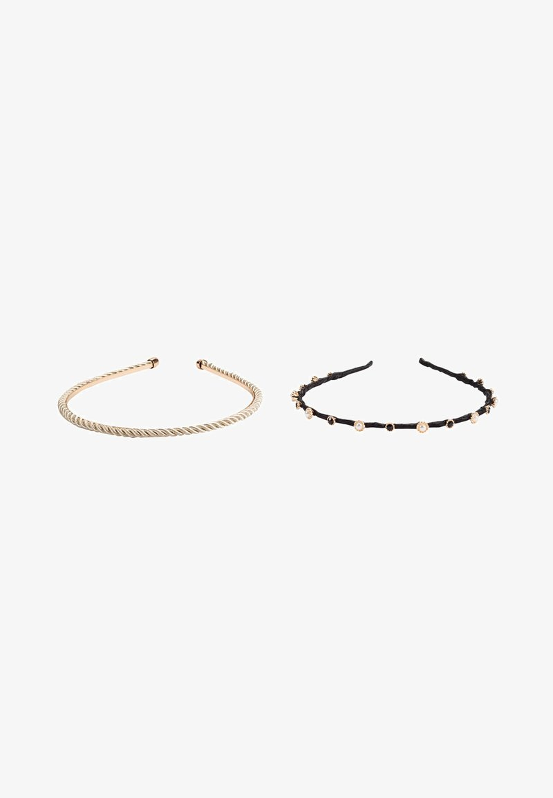 HALLHUBER - 2PACK - Hair styling accessory - black