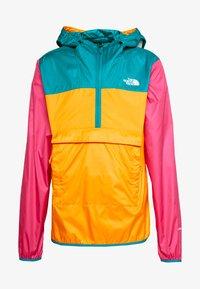 The North Face - MENS FANORAK - Veste coupe-vent - orange/teal/pink - 5