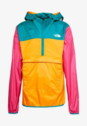 Windbreaker - orange/teal/pink