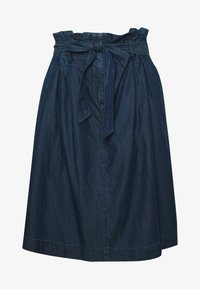 SKIRT - A-line skirt - blue denim