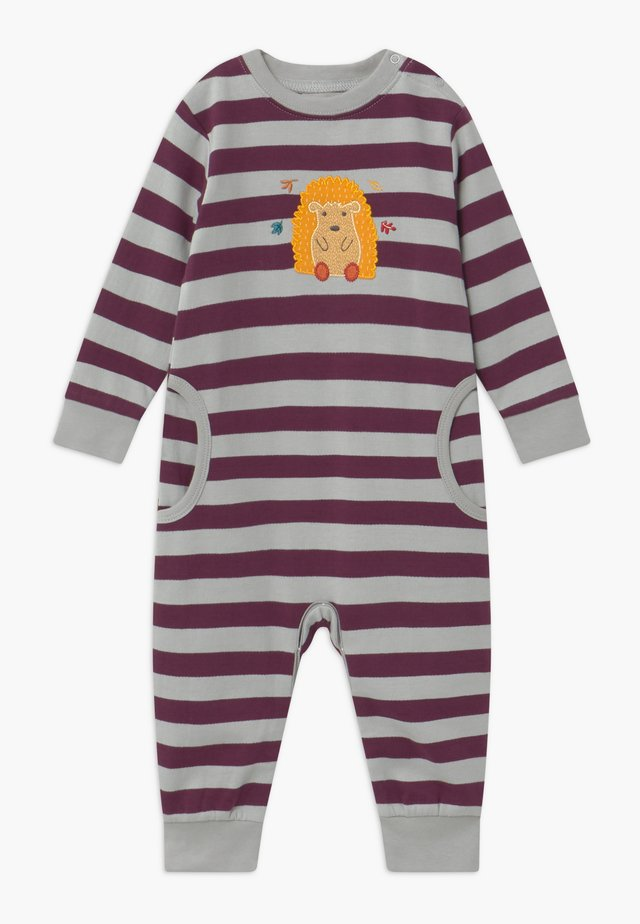 STRINDBERG BABY ROMPER - Pyjama - purple/grey