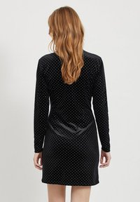 Vila - MIT LANGEN ÄRMELN GEPUNKTETES - Vestito elegante - black - 2