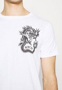 Replay - Print T-shirt - white - 5