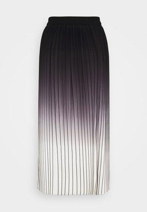 MANNO - Plisovaná sukně - caviar