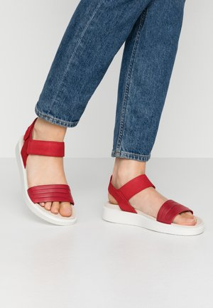 ECCO FLOWT W - Sandals - chili red