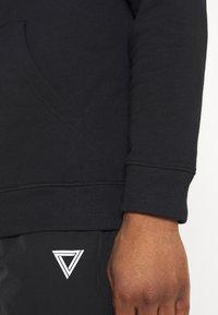 Common Kollectiv - FUTURE HOOD UNISEX  - Sweatshirt - black - 5