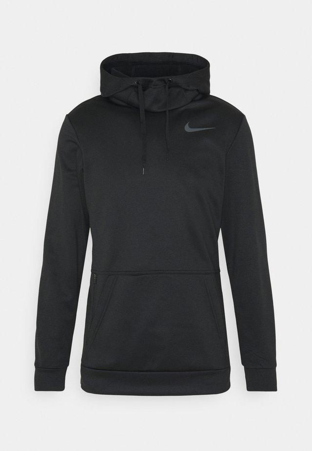 Sweat à capuche - black/dark grey