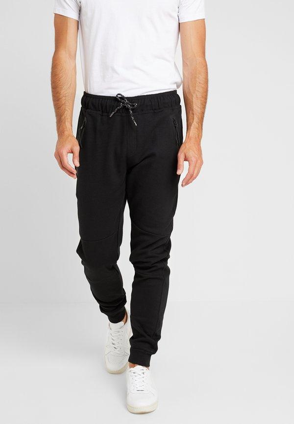 Cars Jeans LAX - Spodnie treningowe - black/czarny Odzież Męska LULO