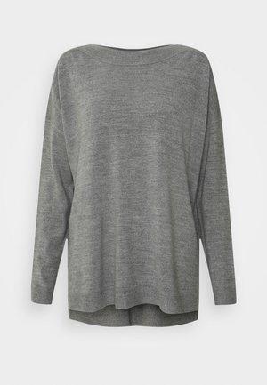 ONLAMALIA  BOATNECK - Svetr - medium grey melange