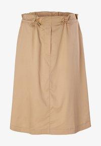 comma - MIT TUNNELZUG - A-line skirt - sahara - 4