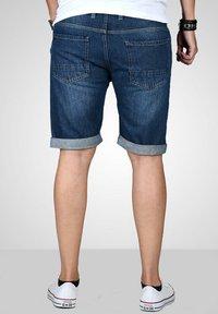 Maurelio Modriano - Denim shorts - dunkelblau - 3