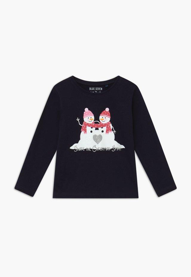 KIDS CHRISTMAS REINDEER - T-shirt à manches longues - dark blue